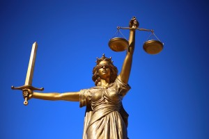 Justice, Statue, Lady Justice, by Pixabay user WilliamCho, licensed by Creative Commons