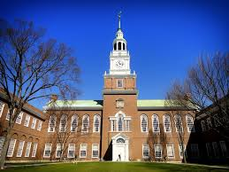 Dartmouth College Campus School, by pixabay user tpsdave, licensed by Creative Commons.